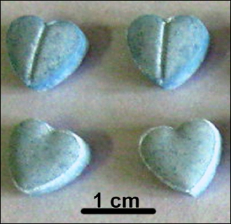 Ingredients in fake dianabol hearts-haped tablets uncovered