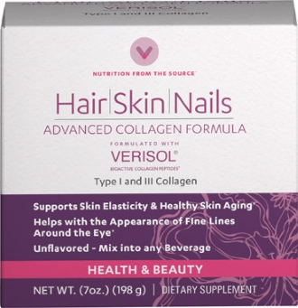 Hydrolysed collagen Verisol strengthens brittle nails
