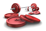 Strength training with free weights is more effective and motivating than strength training with machines