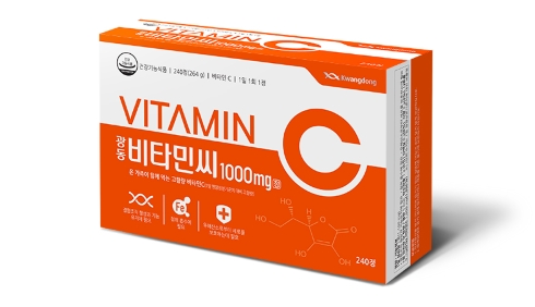 Aging without wrinkles due to vitamin C supplementation